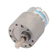 sourcingmap® GM37GB-500 DC 12V 5000RPM High Torque Low Speed Gear Box Motor
