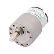 sourcingmap® GM37GB-520 DC 3-24V 7500RPM High Torque Low Speed Gear Box Motor