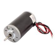 sourcingmap® 31ZY-3162 CW/CCW Round Shaft Electric Motor DC 24V 15-30W 8000RPM