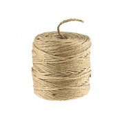 Burlap Jute Twine Cord Rope, 2-Ply, 3mm, 100 Yards