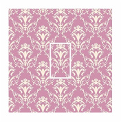 Sticar-it Ltd Pink & Cream Damask Pattern Light Switch Sticker vinyl cover skin decal For Any Room