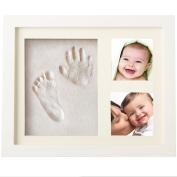 Baby Handprint Kit Baby Prints Gift Keepsake Baby Picture Frames Clay Baby Hand and Footprint Kits
