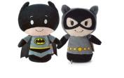 Hallmark DC Comics Itty Bitty Set of 2 Batman and Cat Woman Soft Toy