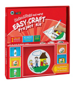 Makit Products F92100ECRD Make A Plate & More-Easy Craft Project Kit, White