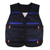 1 X Adjustable Elite Tactical Vest for Nerf N-Strike Elite Battle Game Children Gifts