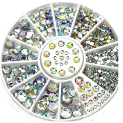 ODN 3D Mixed Its Nail Art Glitter Rhinestone Decoration Gemstones Crystal