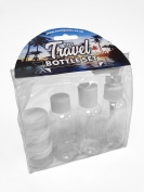 County 7 Piece Travel Bottle Set - Flight Holiday Set Airline Approved - 1 PACK