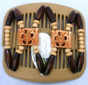African Butterfly hair clip Dupla 2028 11cm Blonde comb