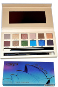 Cargo Cosmetics Eye Shadow Palette-12 Shadows and Brush Land Down Under
