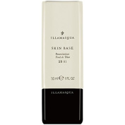 ILLAMASQUA SKIN BASE FOUNDATION 01 30ML, is a pure creamy white, ideal either as a highlight or for mixing to lighten up another shade