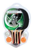 Donic Schildkröt Top Teams 400 Table Tennis Set 2 Bats 3 Balls 2 Cases, 788471