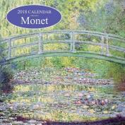 2018 Calendar: Monet