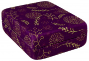 Lifemax Small Pill Box Vanity Case, Purple