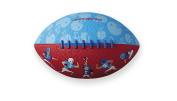 Crocodile Creek Football Players Patterned /Red Kid-Sized Football, Blue, 20cm
