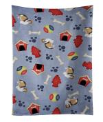 Caroline's Treasures BB4118KTWL Dog House Collection Sheltie Shetland Sheepdog Kitchen Towel , 38cm X 70cm , multicolor