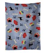 Caroline's Treasures BB4105KTWL Dog House Collection Manchester Terrier Kitchen Towel , 38cm X 70cm , multicolor