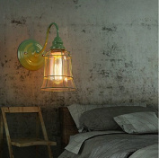 YFF@ILU Home Deco Cage-style Wall lamp (300*280mm) , 3