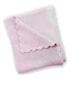 East Coast Nursery Garter Stitch Blanket, Dusty Pink