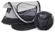 KidCo Peapod Plus Portable Bed with Bonus Gate Cheque Bag, Midnight