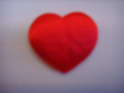 Build a Bear Workshop 38cm Plush Doll Clothes ; Small 2.5cm Red Heart Insert