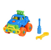 Disassembly Assembly Classic car Toy Singleluci Truck Design