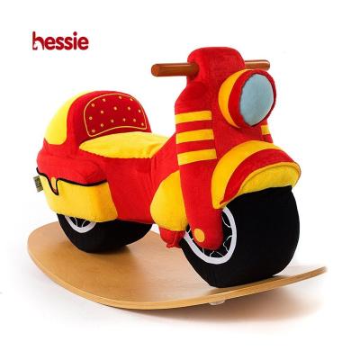 Hessie Arc Board Ride on Toys Balance Bike - Red Motor