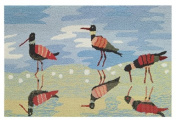 Homefires Accents Indoor Rug, 60cm by 110cm , Reflective Sandpipers