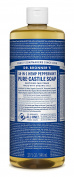 Dr. Bronner's Pure Liquid Castile Soap - Peppermint 950ml