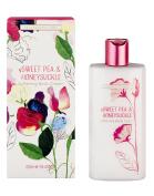 Heathcote & Ivory Sweet Pea and Honeysuckle Softening Body Cream, 250 ml