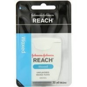 Reach J & J Dental Floss Waxed 55 Yd (Pack of 6) Thank you to all the patrons We hope that he has gained the trust from you again the next time the service