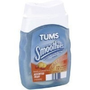 Tums Smoothies Antacid, Extra Strength 750, Assorted Fruit, Tablets, 12 ct, 2 Pack Thank you to all the patrons We hope that he has gained the trust from you again the next time the service