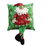 TOPUNDER Christmas Party Lovely Pillow Stereo Sofa Waist Throw Cushion Home Decor