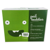 Pail Buddies Nappy Pail Refills For Nappy Dekor Classic Nappy Pails - 2 Pack