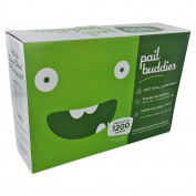 Pail Buddies Nappy Pail Refills For Nappy Dekor Plus Nappy Pails - 2 Pack