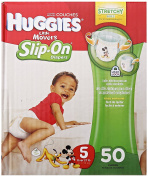 Huggies Little Movers Slip-On Nappies, Step 5, 50 ct