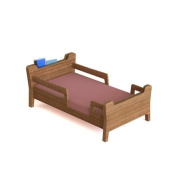 Tambino Reader Toddler Bed, Brown