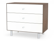 Oeuf Merlin 3 Drawer Dresser in Walnut with Classic Base