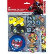 Transformers Mega Mix Favour Pack Birthday Party Supplies 48 PCS. Party Favours
