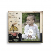 Demdaco Baby Frame, Sailboat