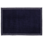 Little Love by NoJo Plush Rug, Navy, 13cm x 20cm