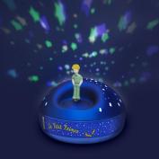 Le Petit Prince Dancing Figurine 200 Stars Musical Projector