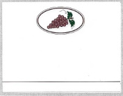 Pack of (32) Red Grapes Labels labels.