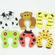 CAN_Deal 6x Baby safety Foam Door Stoppers Animal Designs