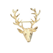 diffstyle 1PC Vintage Golden Animal Pattern Brooches Pin Jewellery Gift for Women Men
