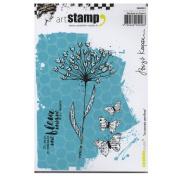 Carabelle Studio SA60261 A6 Stamp Je connais une fleur by Birgit Koopsen