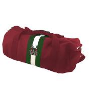 NBA Milwaukee Bucks Red Rugby Duffel Bag