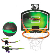 Cyberfire - Glow In The Dark Sports Ball - Indoor / Outdoor Sports Ball With LED Line Of Sight Technology Glasses ( Basketball).