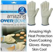 SMARTSTORE High Heat Protection OVEN GLOVES -Kitchen, Cooking Gloves, Pot Holder, Keep Skin Cool..Kitchen, Restaurant, Cafe, Cooking, Baking & Barbecue Gloves