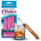 Smuggle Your Booze - 1 Set of Fake Tampons & 1 Funnel