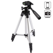 Portable Phone Tripod with Bluetooth Remote Control